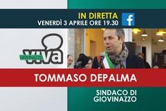 Stasera il Sindaco Tommaso Depalma in diretta su GiovinazzoViva