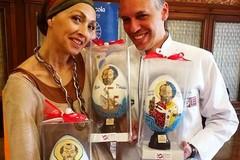 Nicola Giotti ed Elisa Barucchieri ospiti dei Rotary