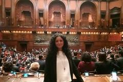 Il primo giorno di Francesca Galizia a Montecitorio