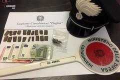 Droga nella biancheria intima, arrestato un 22enne