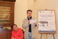 Luca Mongelli oggi a Roma per presentare il suo libro