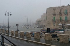 Aggiornamento meteo ore 13.00: neve mista a pioggia anche su Giovinazzo