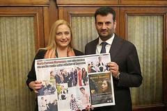 Carmen Martorana premiata da Antonio Decaro