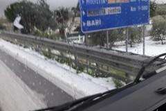 Protezione Civile, allerta gialla per neve su tutta la Puglia