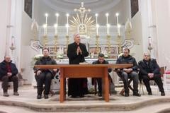 Mons. Cornacchia in ascolto dei confratelli