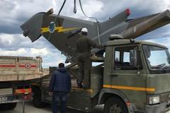 La deriva del Tornado rimossa da Levante per le operazioni di riparazione