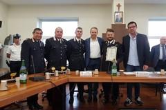 La Città di Giovinazzo conferisce l'encomio solenne al maggiore Vito Ingrosso