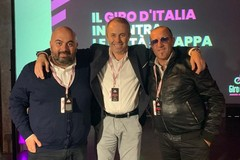 Depalma alla presentazione del Giro: «Grande gioia per tutta la Puglia» (FOTO)