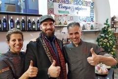 Giovinazzo e Scarmagno incantano nello store di Confartigianato a Roma