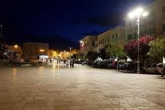 Nuova illuminazione in piazza Vittorio Emanuele II