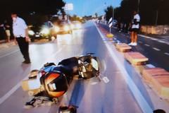 Incidente sulla ex Adriatica: sbalzata dalla moto, 46enne in prognosi riservata