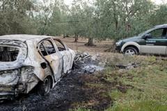 Un'altra auto in fiamme: era stata rubata a Molfetta