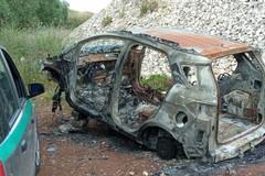 Cannibalizzate e bruciate, carcasse di auto scoperte a Giovinazzo