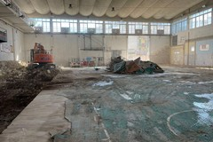 Iniziati i lavori al vecchio Palasport di Giovinazzo (FOTO)