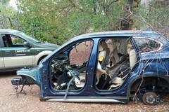 Rinvenute due scocche d'auto nell'agro di Giovinazzo