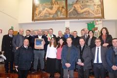 Mons. Cornacchia in Visita Pastorale al Consiglio comunale di Giovinazzo (FOTO)