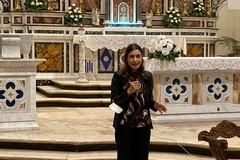 Claudia Koll a Giovinazzo parla di conversione e riconciliazione col Signore