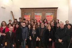 Auguri in musica e versi all'Istituto Vittorio Emanuele II
