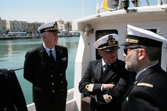 Il Contrammiraglio Meli incontra il cluster marittimo di Giovinazzo