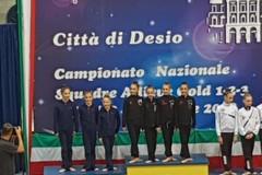 Iris campione d'Italia Squadre Gold 1!