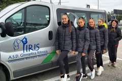 Quartetto Iris in pedana per l'Individuale Gold Junior- Senior