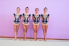 Iris portacolori della ginnastica pugliese al Trofeo Coni Kinder+ Sport