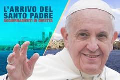 L'arrivo di Papa Francesco a Molfetta - DIRETTA