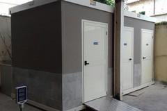 Installati i nuovi bagni nel mercato giornaliero
