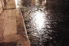 Pioggia e vento su Giovinazzo