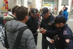 """""""Stazioni Sicure"""": 668 persone identificate, 3 denunciate"""