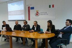 Presentato il progetto di pista ciclopedonale tra Molfetta e Giovinazzo (FOTO)