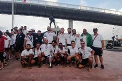 """Regata dei Gonfaloni Pescara: due secondi posti per la """"Massimo Cervone"""""""