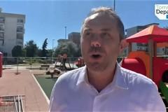 Il sindaco annuncia la chiusura del cantiere di piazza don Tonino Bello (VIDEO)