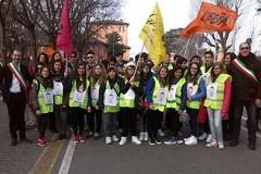 I ragazzi delle scuole giovinazzesi marciano contro le mafie