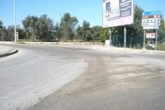 Mezzo perde gasolio, strade in tilt