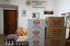 L'Associazione Nazionale Carabinieri per le famiglie indigenti