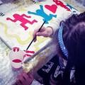 Un'estemporanea di pittura griffata Anffas