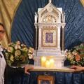 Benedetto l'altare della Madonna nella sede del Comitato Feste Patronali