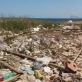 Il litorale sud di Giovinazzo ridotto a discarica