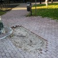Parco Scianatico, i cittadini lamentano lo stato di degrado (FOTO)