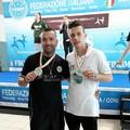 Dell'Olio e Scattarella d'oro ai campionati Assoluti di Rimini