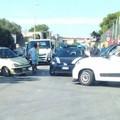 Incidente, due le auto coinvolte. Donna trasportata in ospedale