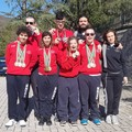 Campionati in vasca corta a Fabriano: 14 medaglie per la Gargano 2000