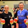 Ottavio Panunzio in tv è un salto nel passato del glorioso kickboxing giovinazzese (FOTO)