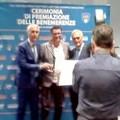 Benemerenze sportive: premiato Antonio Carlucci