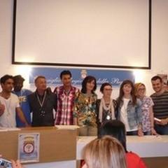"""Premiazioni per il progetto  """"Integra...scopri Puglia """""""