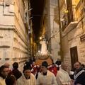Ieri sera l'attesa processione del Beato Nicola Paglia