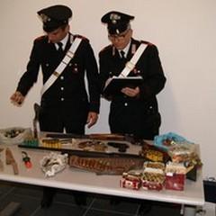 Detenzione illegale di armi. Il bilancio dei Carabinieri