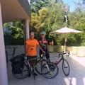 Janus River, il giramondo in bicicletta a Giovinazzo
