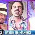 """""""Andrà tutto bene"""", Giovinazzo e Nicola Giotti al fianco del cantante Davide de Marinis"""